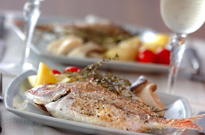 魚介類にだってもちろん使えます。魚介の生臭さを消して、食欲をそそる香ばしさプラスしてくれます。