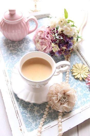 特別な一杯にふさわしいカップを選んでみたり…