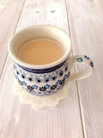 いつもより、ちょっと贅沢な茶葉を使って… おうちでコトコト『濃厚ロイヤルミルクティー』を作ってみませんか?