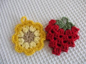 花型、いちご型、リーフ型などいろいろなデザインがあり、ちょっとおっくうな洗い物もなんだか楽しくなりそうです。