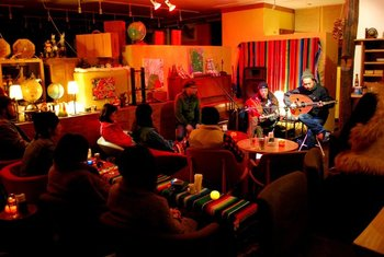 イベントなども開催され、カフェとしての場を大いに盛り上げているリビングストンカフェ。近場へお出かけの際は是非立ち寄ってみてほしいカフェの一つです。