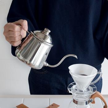 機能は申し分なし!デザインで選ぶコーヒー用のケトル5選