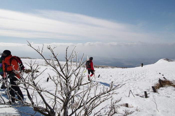 冬は白銀の世界! 四季折々の顔が楽しめます。