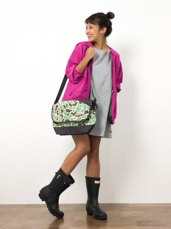 アメリカ生まれのColumbia(コロンビア)。 カラフルな色使いで、タウンファッションでも人気です。