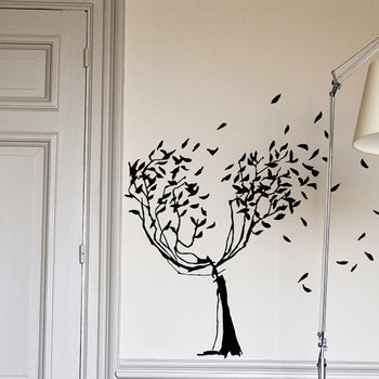 たくさんの種類があり、どこの壁にどれを貼ろうか、迷ってしまう楽しさも。 どれも他にはないアーティスティックな作品ばかりで、貼るだけで部屋の中のオシャレさがぐっと増しますよ♪