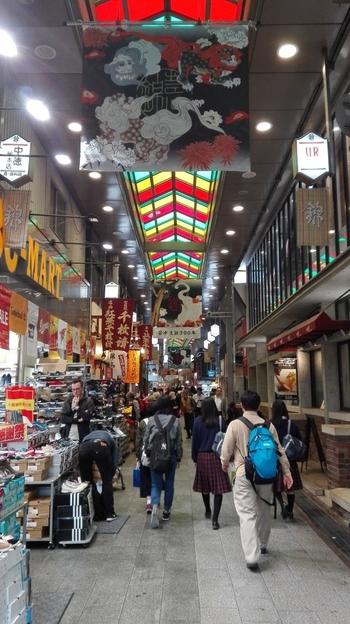 錦小路も楽しい商店街で、有次にたどりつくまであちこちブラブラしてみたい!