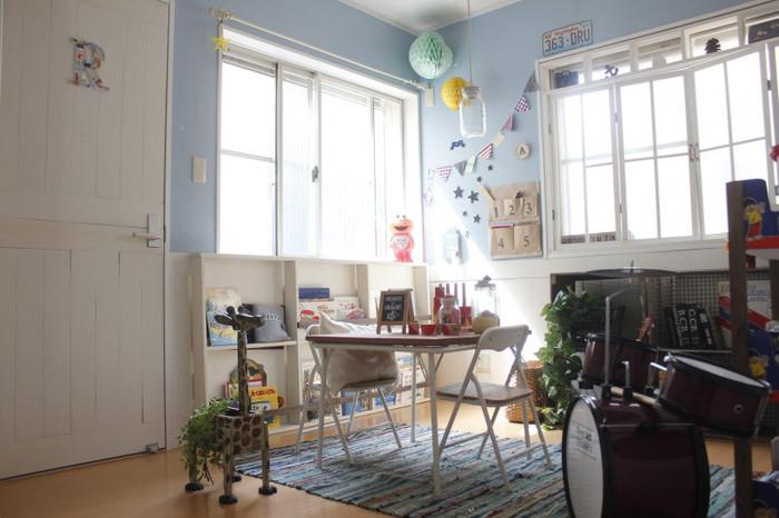 やり過ぎくらいがちょうどいいよねとっても可愛い子供部屋インテリア