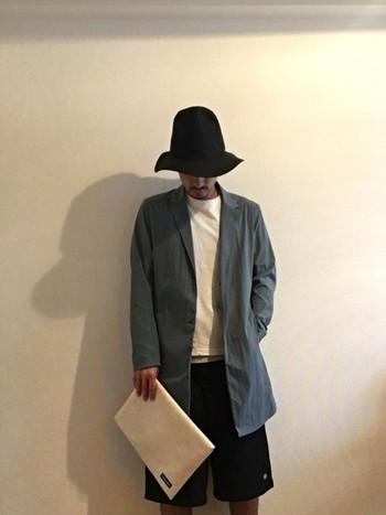 ラフなファッションにはもちろんこと、ジャケットを羽織ってシックに決めた日にも合わせられます。