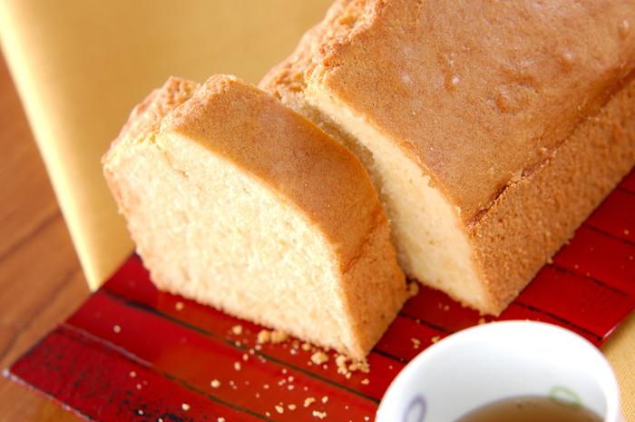 米粉を使うと、しっとりとしたきめ細かなケーキに仕上がります。しょうがの風味が爽やかな、自慢のスイーツになりそうですね。