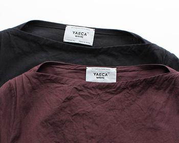 """YAECAは、スタンダードな日常着""""というスタイルを基本とし、ベーシックアイテムに独自のフィロソフィーを加えたデザインが人気を集めています。"""