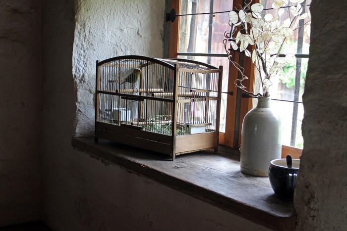 鳥かごをインテリアに取り入れてみてください。小物ケースやランプシェードとして使ったり、アイディア次第で、そこはかとなくフレンチカントリーな雰囲気を漂わせてくれます。