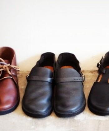 オーロラシューズの持つ「履きこんでいくことで馴染んでいく」風合いは、ほんとうに素敵ですね。