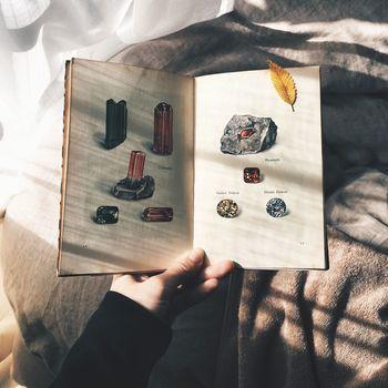 鉱物のことが書かれた図鑑も販売されています。これはインゼル文庫の54番、鉱石と鉱物図鑑という本です。ただ眺めているだけで、心が癒されていくのを感じます。