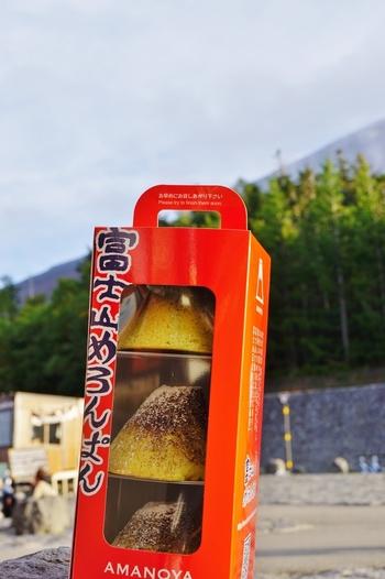 東名高速道路足柄サービスエリアなど、「富士山めろんぱん」はサービスエリアでもよく見かけますよ。  お土産用として、3個入りのBOXもあります。
