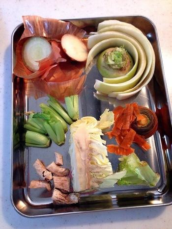 毎日お料理していると、どうしても出てしまう野菜のごみ。ヘタの部分や芯、皮や種など、けっこう出ますよね…。 でも、これらの部分をごみとして捨ててしまうなんてもったいない!実は、私たちに必要な栄養素がたっぷり含まれているんです。