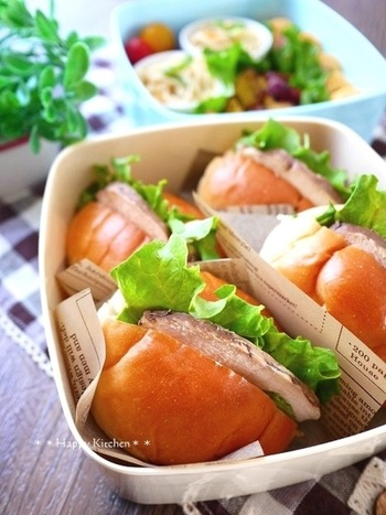 味付け肉があれば、それだけでご馳走に。チャーシューや角煮、鶏ハムなど、すんなり嚙み切れるようなお肉は小さい子も食べやすくていいですね。