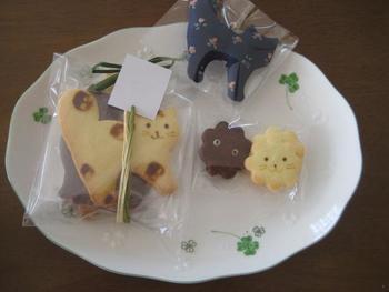 猫好きによる猫好きのためのネコクッキーがオッコクッキーズ!愛嬌のある顔がなんとも可愛らしいクッキーです。可愛すぎて裏返して食べるという意見まで!