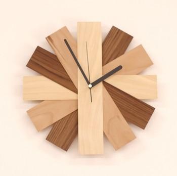 時を刻むインテリア* おしゃれな手作り時計のDIYアイデア集