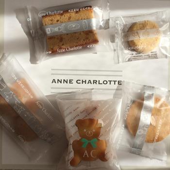 札幌の有名な洋菓子店アン・シャルロットの商品です。