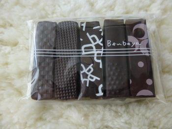 チョコレートも一つ一つ表面のデザインが違っていてカワイイ!食べごたえもありそうですね♪