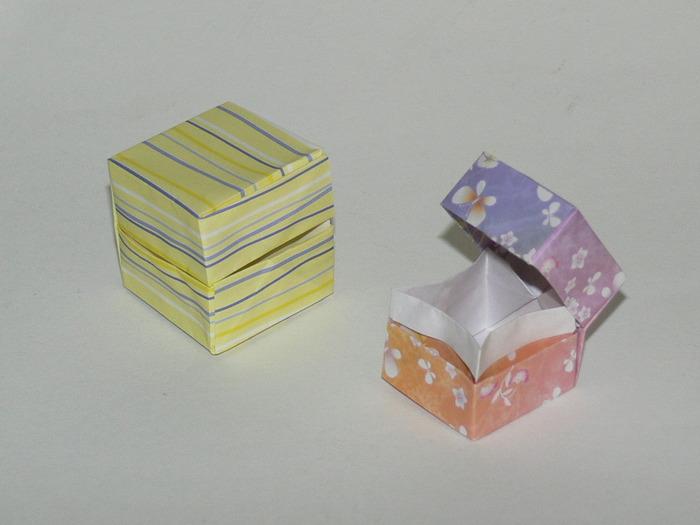 プレゼントにはフタ付きのBOXがおすすめです。