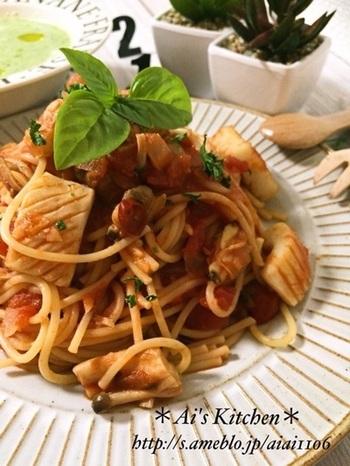 魚介の旨味たっぷりのシーフードミックスは、イタリアンにも大活躍してくれます。トマトベースのパスタが食べたい時には、美味しいペスカトーレはいかがでしょう?