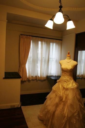 和装はもちろん、ウエディングドレスもしっかりと写真に映えます♪クラシカルなドレスが似合いそう♡