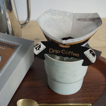 ドリップコーヒーが作れるドリップバッグもおすすめです。