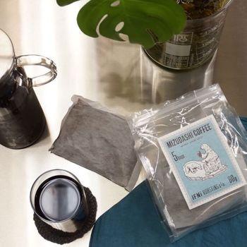 水に浸すだけで作れる水出しコーヒーもありますよ。
