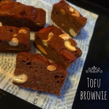 豆腐はチョコレートとの相性も良好です。カロリーを抑えられるので、たくさん作って家族のおやつに!