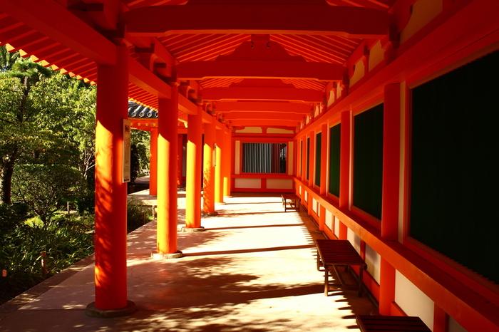 ここを訪れたのなら、遊歩道や回廊をめぐって、本堂の壮大なスケールをぜひ楽しみましょう。