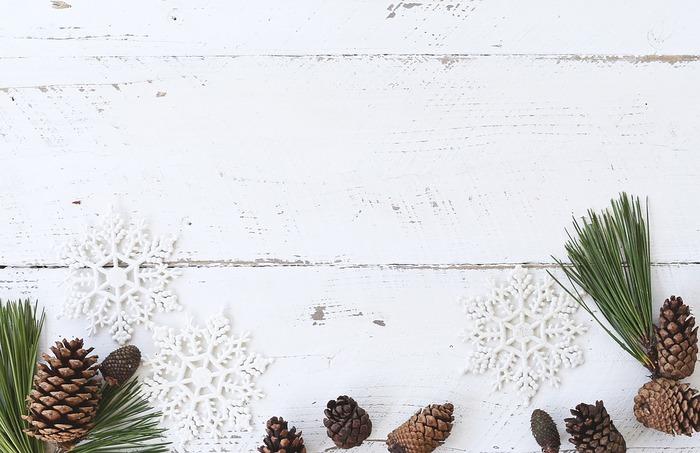 ちょこっとDIY。松ぼっくりで可愛いクリスマスツリーを手作りしてみない?