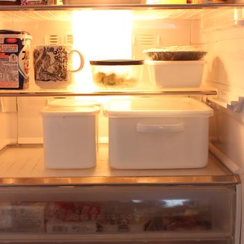 長方形なのですっきりと冷蔵庫に保存できるのも嬉しいですよね。ぬか漬けを作っていないときはお米や味噌などの保存容器として使用しても良いので気軽にはじめてみても良いですよね。