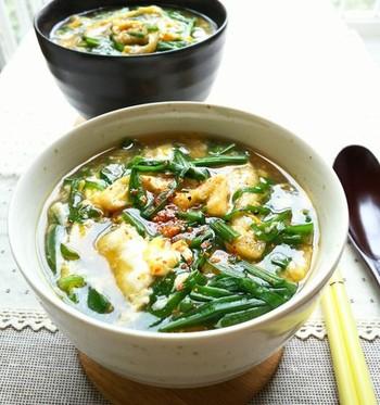 にらも素麺も、すぐに火が通る食材。あらかじめ準備しておけば、15分ほどで「いただきま~す!」。