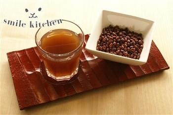 こちらは、麦茶と割って飲むレシピ。 好みによって割合を調節してもいいですね。