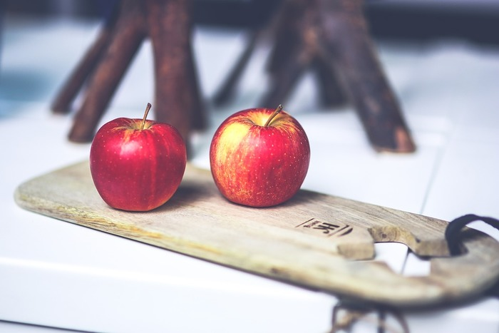 これがりんご!?かわいくておしゃれ☆進化しているりんごの飾り切り