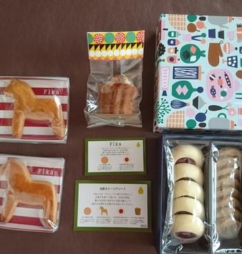 「Fika」では、まだ日本になじみの薄い北欧の伝統的なお菓子を味わえます。どれも素朴なおいしさで、本場のフィーカの雰囲気が垣間見ることができるようです。