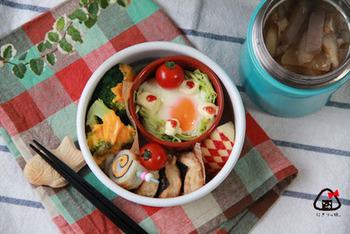 お弁当にいれると華やかになり、とってもオシャレ☆