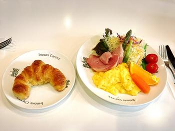 人気の「京の朝食」。素敵な一日が過ごせそうな朝ごはんです。