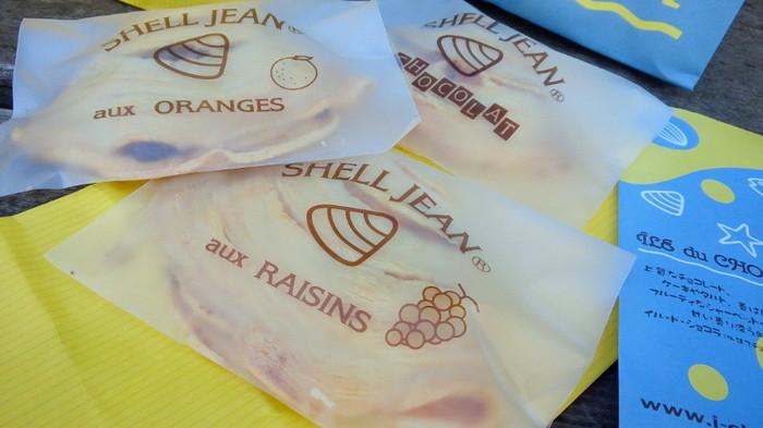 その名もSHELL JEAN(シェルジャン)。貝の形をした美しい焼き菓子です。