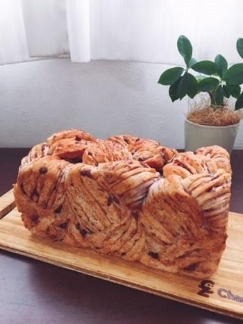 出し殻の使い道も困ったら思い切ってパンに入れても。 小豆茶のついでにパンが出来たら一石二鳥!