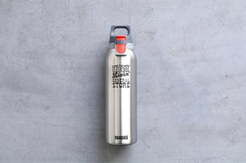 保温・保冷に優れたサーモボトルは一年中大活躍。