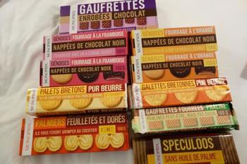 スーパーのオリジナルお菓子なんて…と思う方もいるかもしれませんが、これこそ、その国でした買えないものではないでしょうか? 値段も手頃で、実はフランス人にとっては最も馴染みのあるお菓子かもしれません。