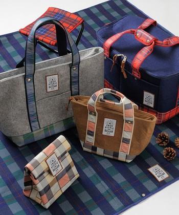 バッグやランチボックスも同じシリーズで揃えたら、さらに素敵なピクニックが楽しめますよ♡