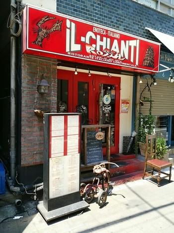 今までご紹介した神楽坂のイタリアンとはちょっと店構えの雰囲気が異なりますね。見るからにカジュアル。ふらっと気楽に寄っていきたいお店です。