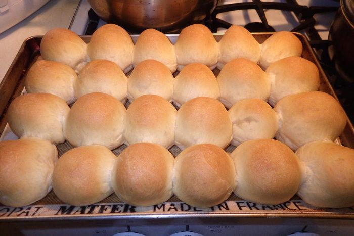 ホット ケーキ ミックス 蒸し パン フライパン