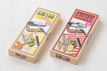 バウルーは、日本で発売されてから40年近く経つロングセラー商品で、多くの人に愛されています。レトロポップな箱のデザインがかわいいですね! 挟んで焼くだけの手軽さと、そのおいしさの虜になったバウルー愛用者を、いつしか「バウラー」と呼ぶようになったそうです。