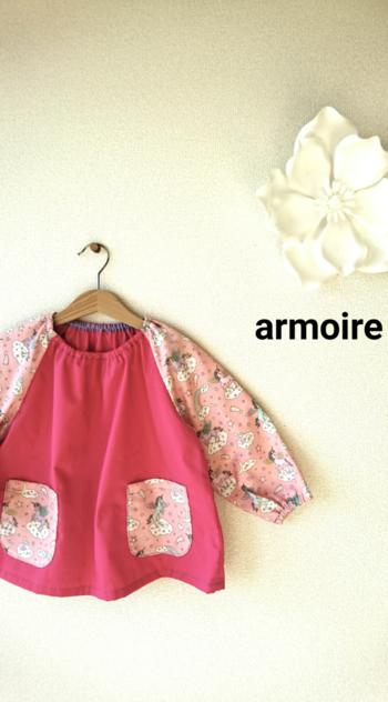 スモックなどの洋服にはロックミシンを使うと綺麗ですが、趣味であればジグザグ縫いでも十分です。ほつれないようにしっかりジグザグすれば案外丈夫ですよ♪