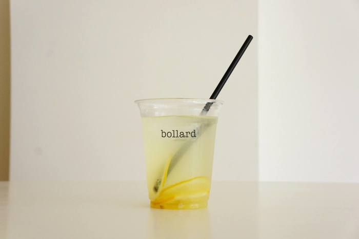 メニューにはコーヒーの他に豊島レモンの自家製レモネードも。コーヒーが飲めない人でもゆっくり楽しめます。