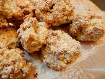 卵白一個分でできるイタリアの焼き菓子。素朴な美味しさです。